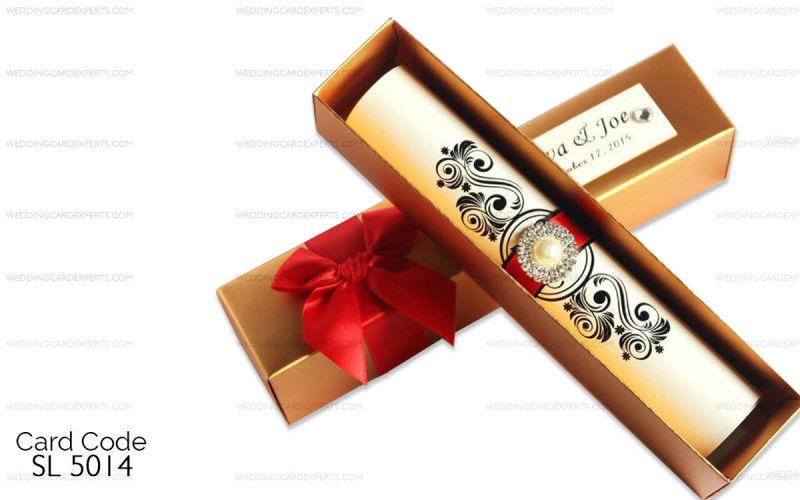 Scroll Wedding Invitations.Scroll Wedding Cards Wedding Lahore Scroll Wedding Invitation