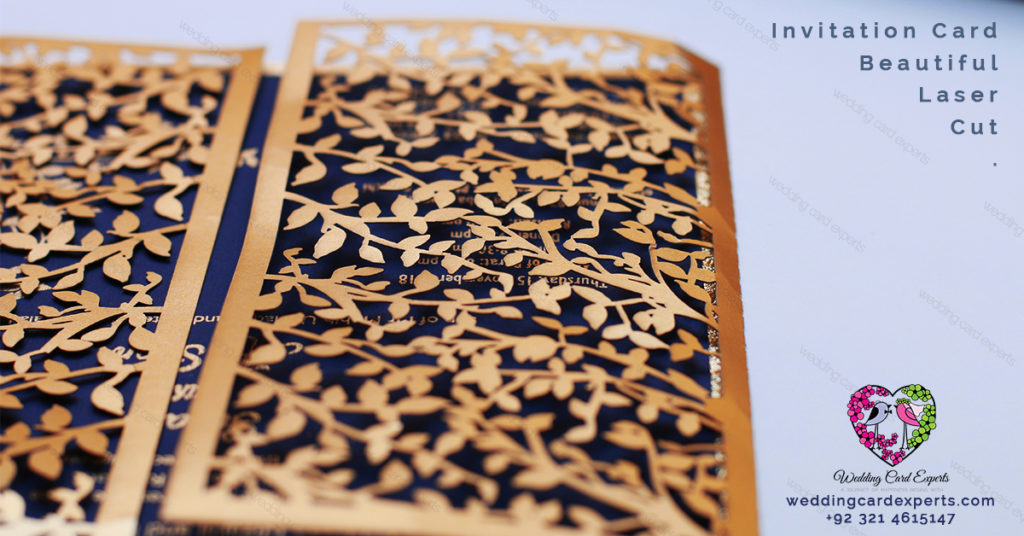 Wedding Card Experts - Wedding Card - Wedding Cards - Wedding Card Lahore - Laser Cut Invitation Cards